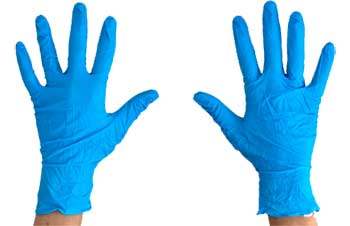 buy blue gloves