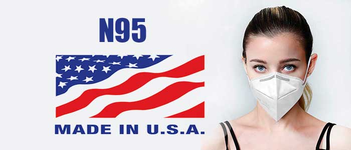 Made in USA N95 Masks